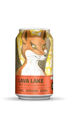 疯狂山峰 熔岩湖小麦啤酒(罐)355ML