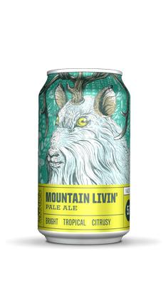 疯狂山峰 山脉生活淡色艾尔啤酒(罐)355ML