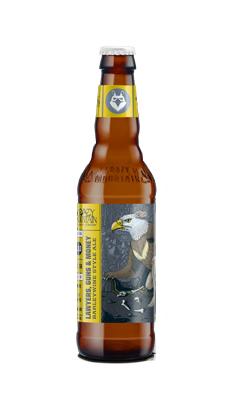 疯狂山峰 律师枪和钱大麦啤酒(瓶)355ML