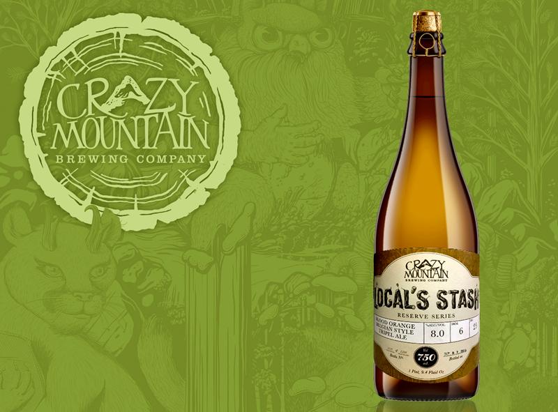 疯狂山峰 珍藏血橙比利时三料艾尔啤酒750ML