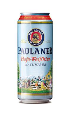 保拉纳(柏龙)慕尼黑小麦啤酒(罐)500ML