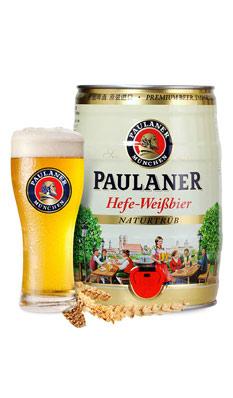 保拉纳(柏龙)慕尼黑小麦啤酒(桶)5L