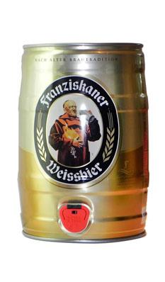 教士纯麦啤酒(桶)5L