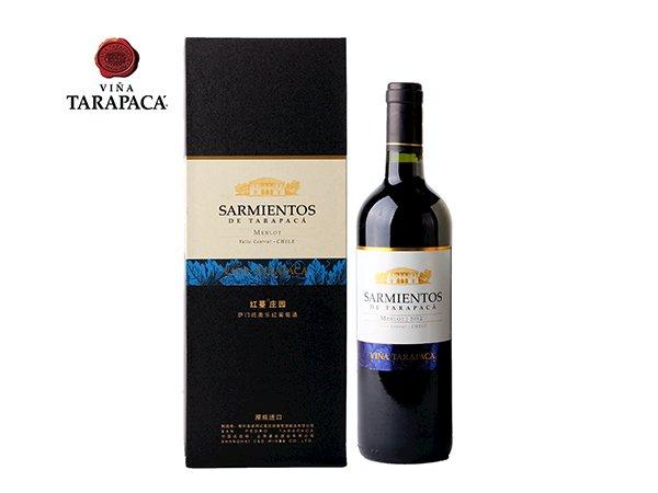 红蔓庄园萨门托美乐红葡萄酒750ML