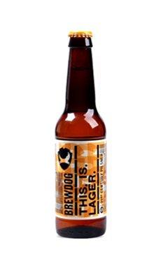精酿狗(酿酒狗)这是拉格啤酒330ML