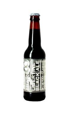 精酿狗(酿酒狗)自由的黑啤酒330ML