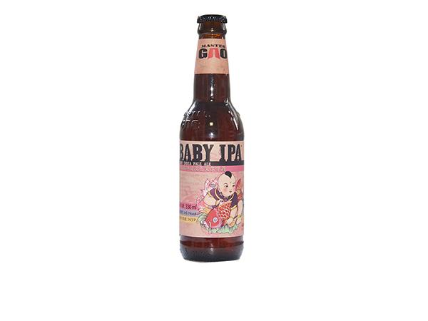 高大师 婴儿肥 精酿啤酒 IPA 印度淡色艾尔 330ml