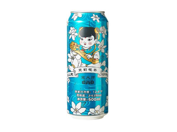 高大师 婴儿肥 精酿啤酒 茉莉花茶拉格 500ml