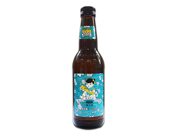 高大师 婴儿肥 精酿啤酒 茉莉花茶拉格 330ml